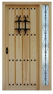 Puertas valera de abajo puertas serie duelas puertas rusticas - Puertas de madera exterior rusticas ...