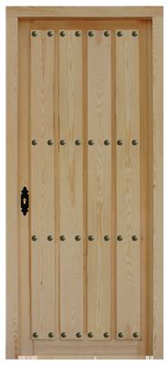 Puertas valera de abajo puertas serie duelas puertas rusticas - Puertas en valera de abajo ...