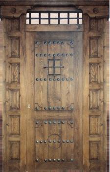 Puertas valera de abajo puertas rusticas puertas para for Puertas de calle rusticas