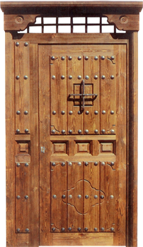 Puertas valera de abajo puertas rusticas puertas para casas rurales - Puertas en valera de abajo ...