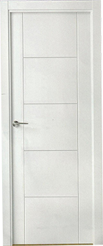 Puertas de interior blancas lacadas de alta calidad - Puertas de paso blancas ...