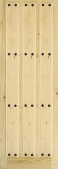Puertas de madera maciza puertas valera de abajo puertas rusticas - Puertas valera de abajo ...